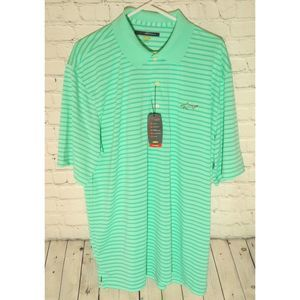 Greg Norman Short Sleeve Pro Tek Micro Polo Shirt